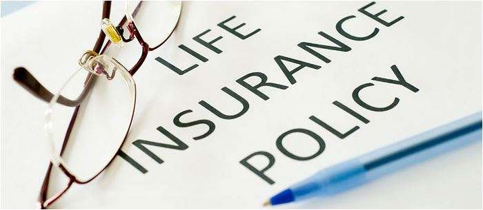 Image of Life Insurance Policy on a desk