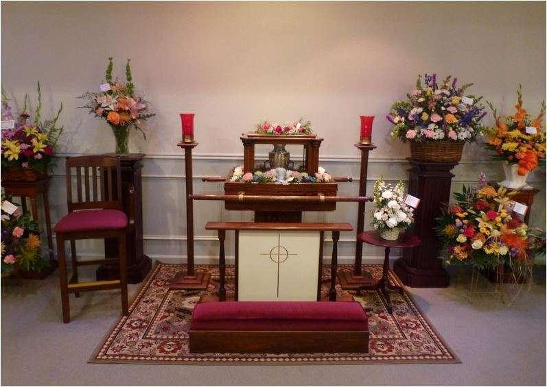 Image of a Memorial Service